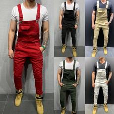 men's jeans, Plus Size, Spring/Autumn, dungaree