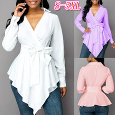 blouse, Tops & Blouses, Fashion, asymmetricblouse