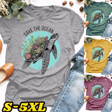 Turtle, Plus Size, savetheocean, short sleeves