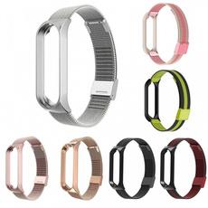 Steel, xiaomimiband4, wriststrapforxiaomimiband3, Stainless Steel