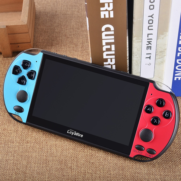 Wish | Classic Game Console 8GB 2000 games Portable 5.1 inch 8G HD Handheld Game Console Support TV Output