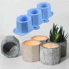 Ceramic, Silicone, Pot, flowerpot