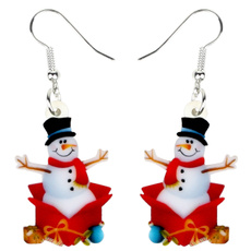 snowmandecoration, party, Jewelry, Gifts