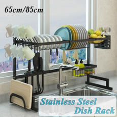 Steel, dishshelf, drainrack, Storage