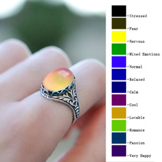 Gifts For Her, Antique, Jewelry, colorchangingmoodring