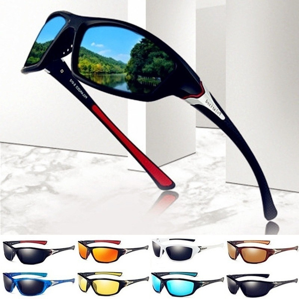 UV400 HD Cycling Riding Driving Glasses Sports Sunglasses Goggles Outdoor Cool