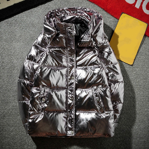 Mens Hooded Thick Padded Jacket Winter Warm Casual Puffer Parka Outwear Coat UK