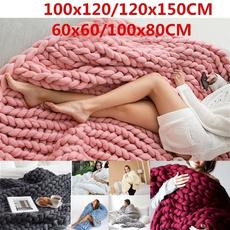 sewingknittingsupplie, chunkyblanket, Home Decor, Blanket