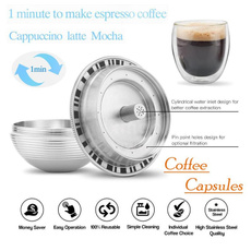 Steel, fillablecoffeecapsule, Coffee, Stainless Steel