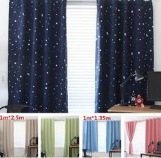bedroomcurtain, Star, Декор, windowcurtain