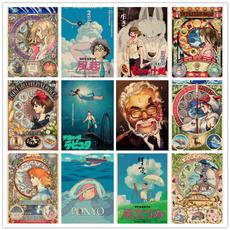 decoration, miyazaki, Wall Art, Home Decor