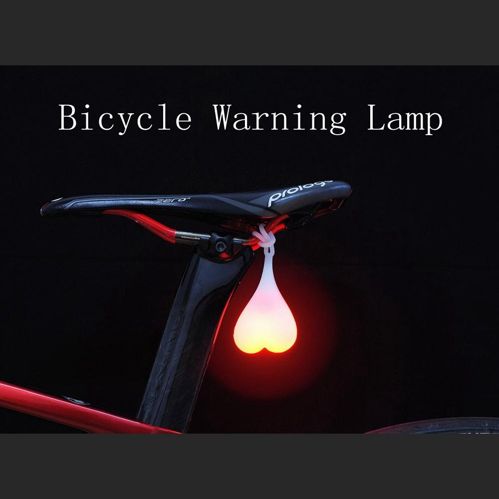 Mountain&Road Bike Rear Light Night Warning Cycling Safety,Funny Creative  Waterproof Design,Easy to Mount The Bicycle Ball Lamp