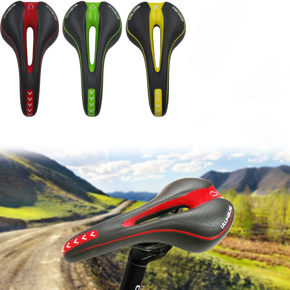 NEW Bicycle Cycle Bike MTB Saddle Road Mountain Sports Soft Cushion Gel Pad Seat