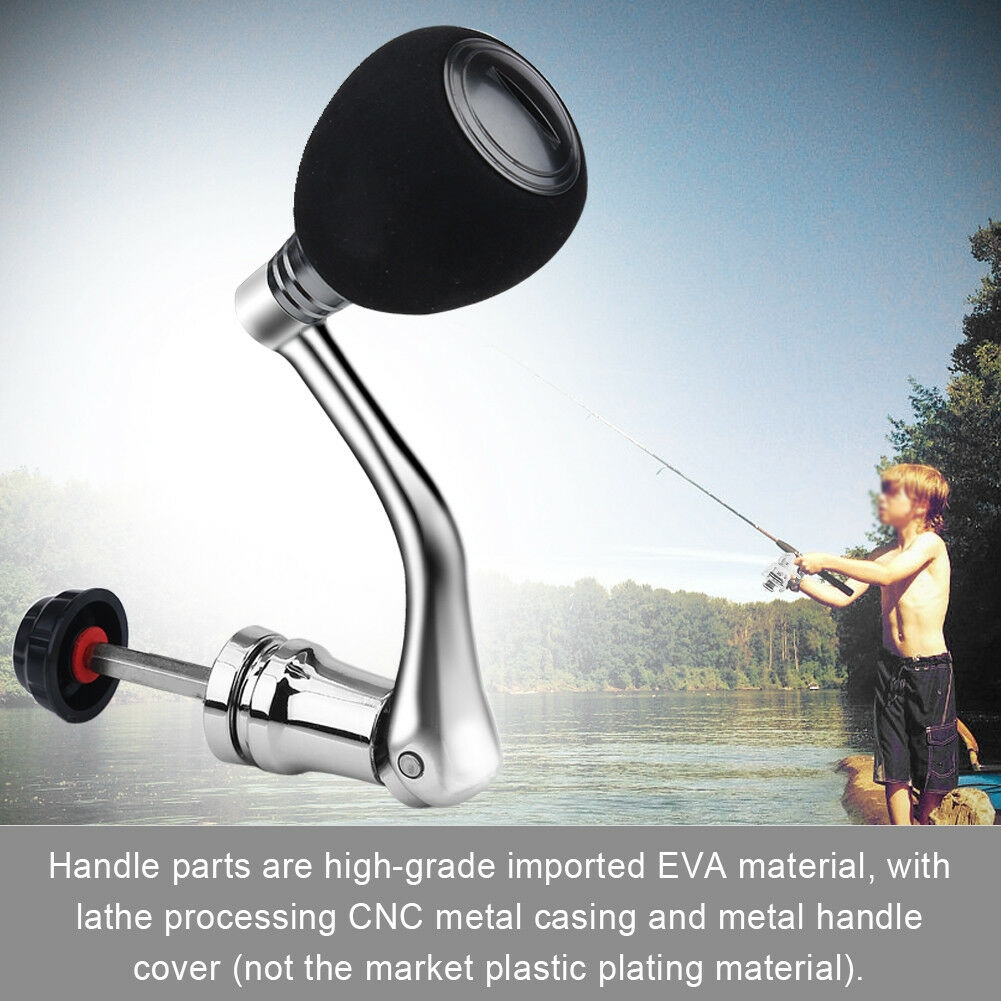 Metal Fishing Reel Handle Ball Knob Replacement Parts For Spinning Fishing,Better and more convenient