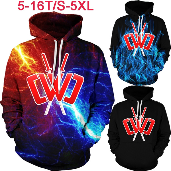 Chad Wild Clay Hooded Sweater Child Casual Sweatshirt Long Sleeve Clothes