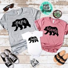Shorts, familymatchingoutfit, Cotton T Shirt, Family