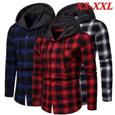 plaid, Shirt, fashion shirt, Tops