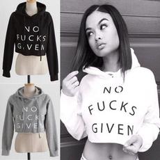 hooded, womenhoodiescasual, cotton sweatshirt, Tops