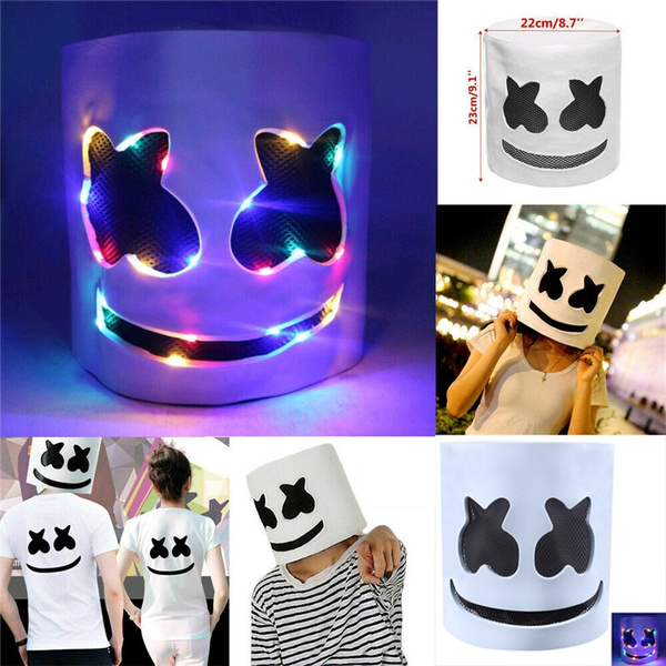 DJ Mask MarshMello Emulsion Cosplay  Mask