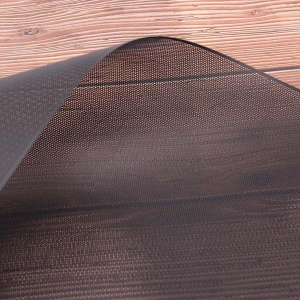 DIY 30x100cm Computer Mesh PVC PC Case Fan Cooler Black Dust Filter CoverS!