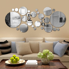 Home & Kitchen, Decor, selfadhesive, roundwallpaper