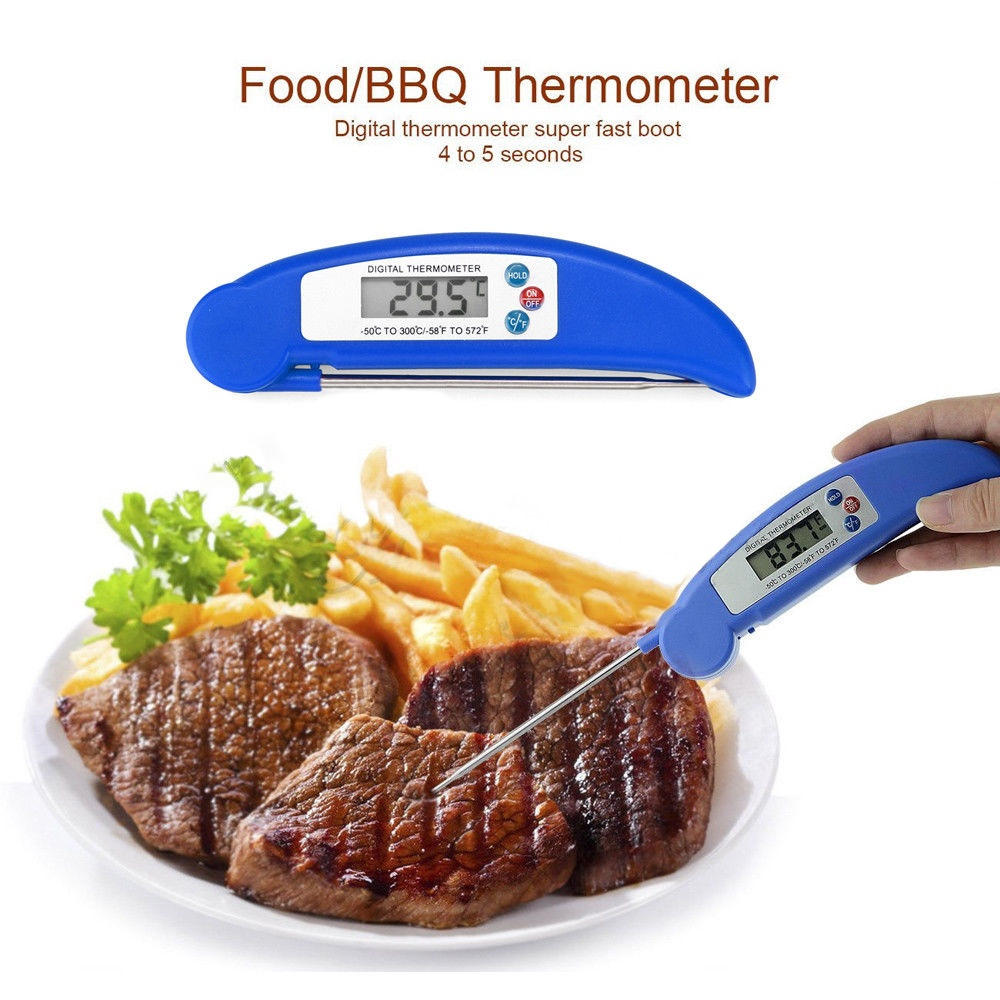 Cookware Food Thermometer Probe Temperature Kitchen Cooking BBQ Meat Turkey