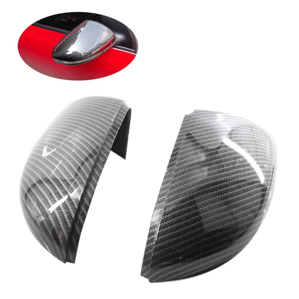 Side Mirror Covers Caps Carbon Look Replacement Carbon Mirror Caps For Golf 6 Jetta Mk6 Gti Gtd R20 Exterior Mirror Wish