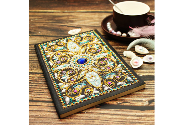 A5 Painting Diamond Painting Diary Notebook DIY Journal Writing Books 64 Pages