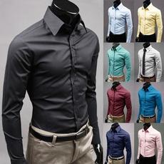 slim fit shirt, Plus Size, Dress Shirt, long sleeved shirt