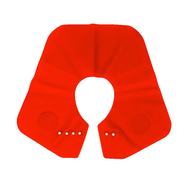 Silicone Shawl Silicone Cutting Super Collar Neck Shield Haircut Shawl  Waterproof Non,Stick Hairstyle Hair Loss
