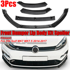 bumperspoiler, frontbumperlip, Golf, carbumperprotector