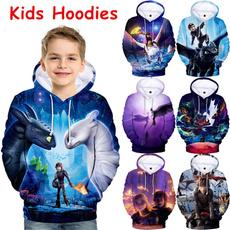 kids, 3D hoodies, boyshoodie, hooded