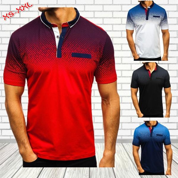 Summer, shortsleevepolotshirt, Fashion, Polo T-Shirts