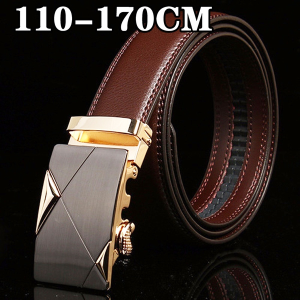 Mens fashion leather casual business belt