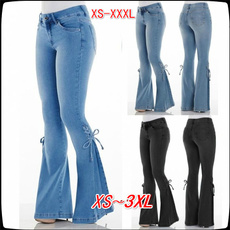 Women Pants, Plus Size, Casual pants, Bell