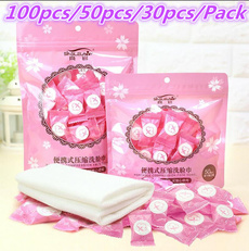 60Pcs Mini Portable Face Care Compressed Towel For Outdoor Travel Health Lot