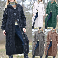 Hoodies, Plus Size, sweatercardigan, sweater coat
