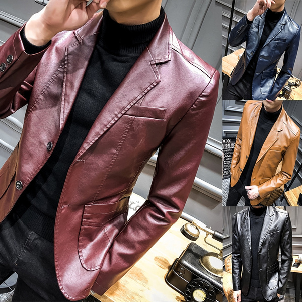 Coat, Winter, casacosmasculino, leather
