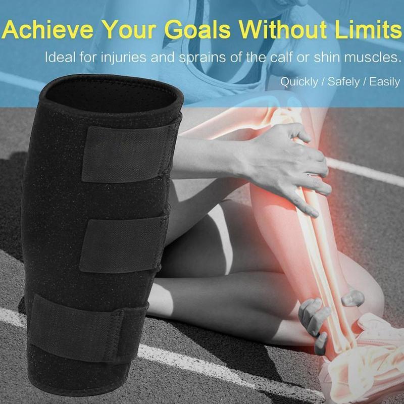 Calf Compression Sleeve Brace Shin Splint Support Lower Leg Wrap Muscle