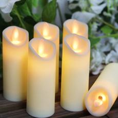 led, ledflamelesscandle, candlelight, Battery