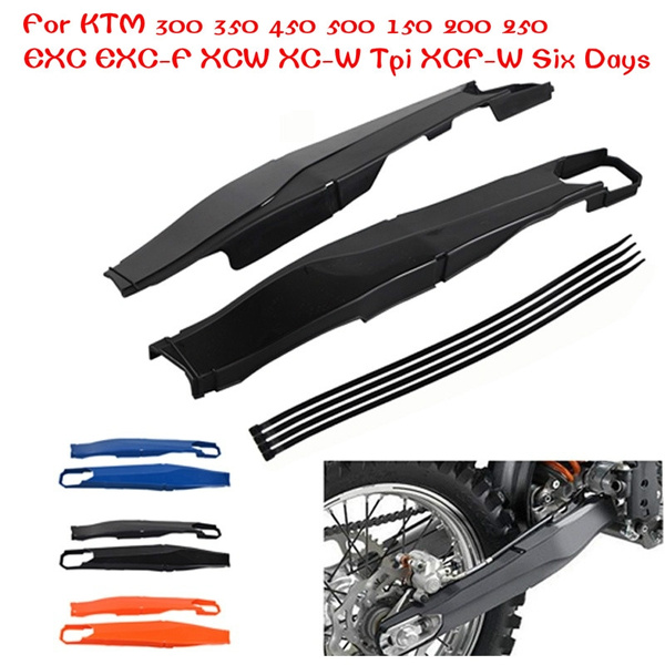 Swingarm Protectors Guards Covers For KTM 150 200 250 300 450 500 XCW EXC EXC-F