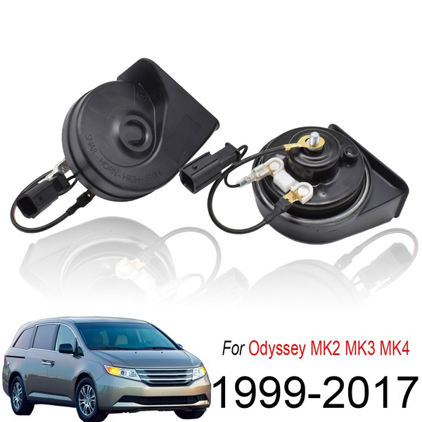 AUTOXBERT 110-125db Loud Waterproof Snail Horn for Honda Odyssey ...