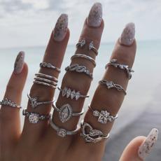 bohoring, bohemianjewelry, silverringsforwomen, crownring