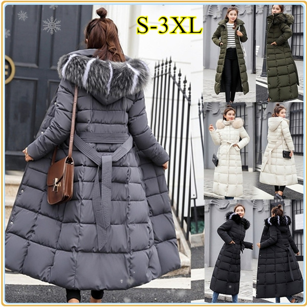 Fashion, fur, Winter, slim long