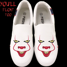 Sneakers, shoes for womens, lazyshoe, Horror