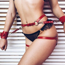 Leather belt, bondage, leather, selfbondage