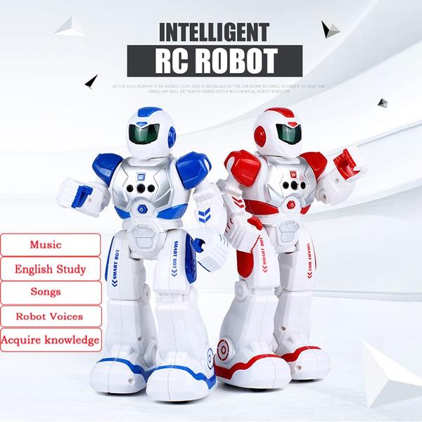 Multpurpose Smart Remote Control Walking Robot Kid RC Intelligent Toy Xmas Gift