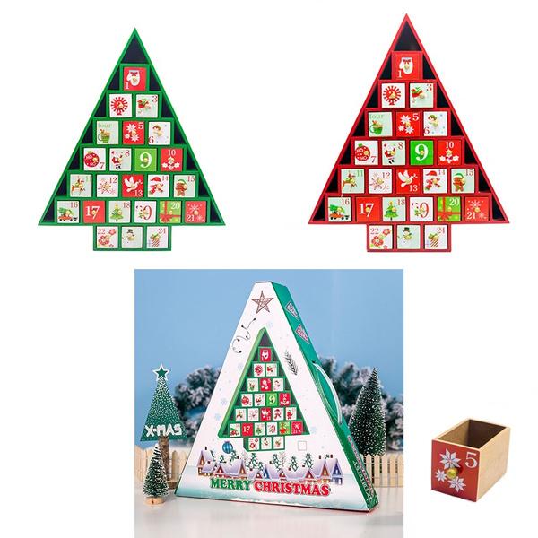 Box, decoration, Christmas, countdowncalendarbox