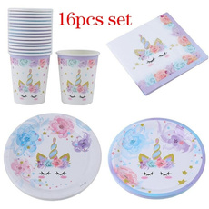 cute, Holiday, unicornthemepartytableware, unicornpapercup