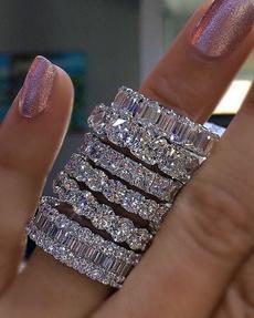 Heart, czring, wedding ring, Diamond Ring